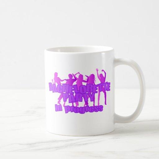 Bachelorette Party In Progress Mugs