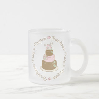 Bachelorette Party in Progress Wedding Tee Gifts 10 Oz Frosted Glass Coffee Mug