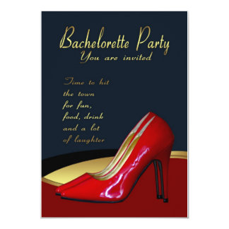 Bachelorette Party Invitation Card - Bachelorette