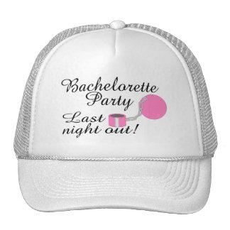 Bachelorette Party Last Night Out Trucker Hat