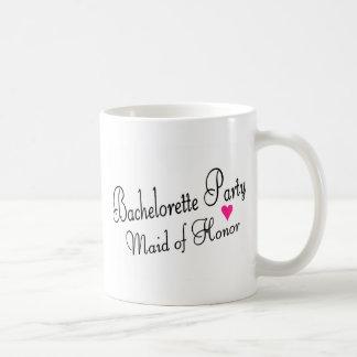 Bachelorette Party Maid of Honor Mug