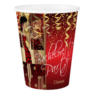Bachelorette Party  - Party Girl Red Paper Cup