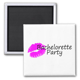Bachelorette Party (Pink Kiss) Magnet