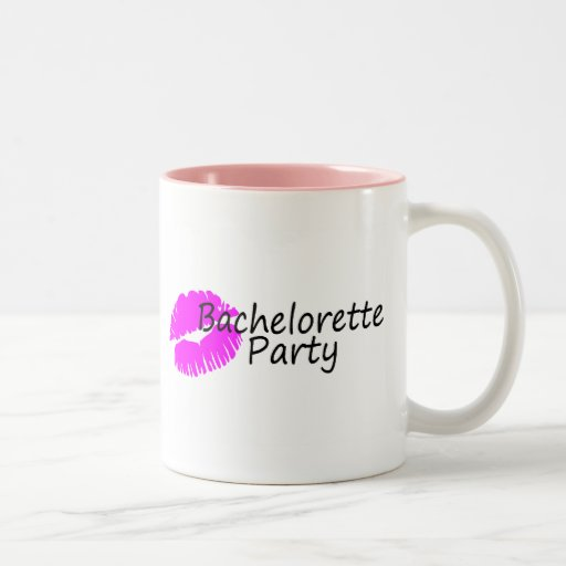 Bachelorette Party (Pink Kiss) Coffee Mug