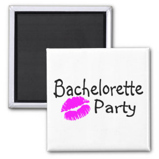 Bachelorette Party (Pink Lips) Magnet