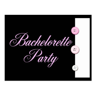 Bachelorette Party Post Card