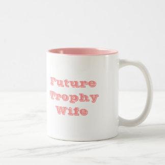 Bachelorette Party Shirt Two-Tone Coffee Mug