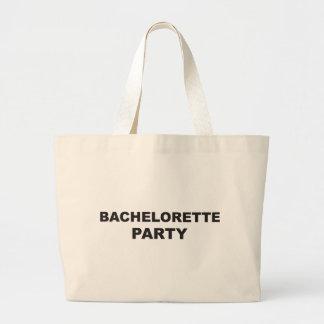 bachelorette party single girl tote bag