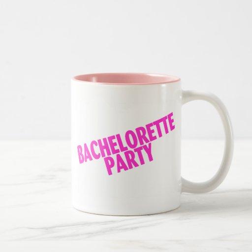 Bachelorette Party (Slanted Pink) Mug