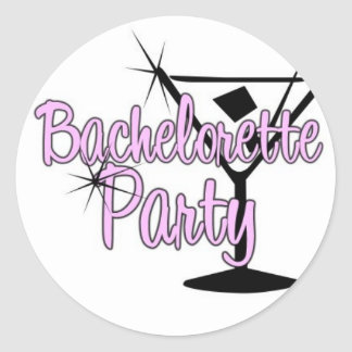 Bachelorette Party Sticker Sheet.