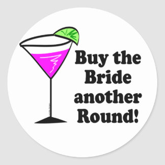 Bachelorette Party Stickers