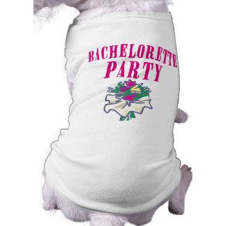 Bachelorette Party T-shirt Doggie Shirt