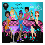 Bachelorette Party Teal Pink Fun Girls Cocktails 4