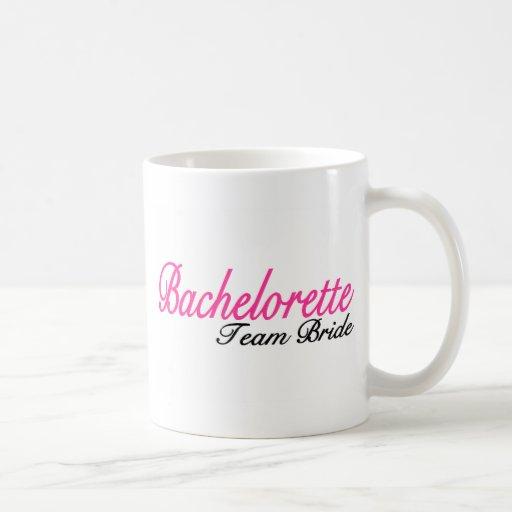 Bachelorette Party Team Bride Mug