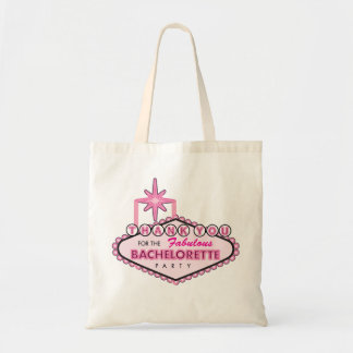 Bachelorette Party Thank You Tote Favor - Vegas