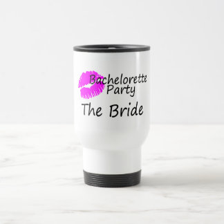 Bachelorette Party The Bride 15 Oz Stainless Steel Travel Mug