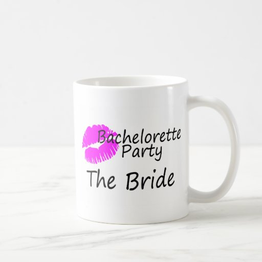 Bachelorette Party The Bride Coffee Mugs