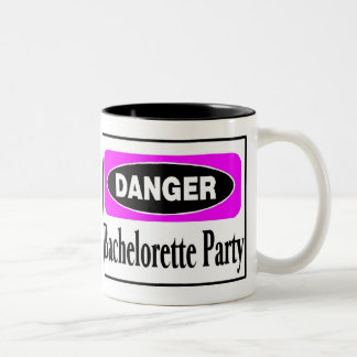 Bachelorette Party Two-Tone Coffee Mug