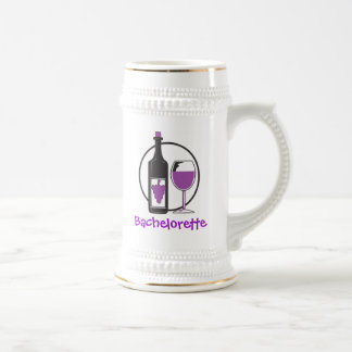 Bachelorette Red wine Party Beer Steins