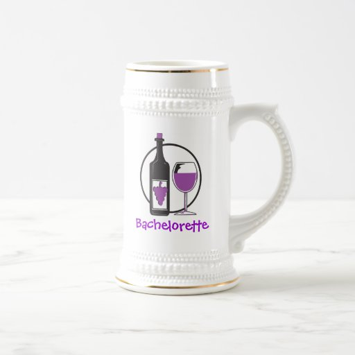 Bachelorette Red wine Party Mugs