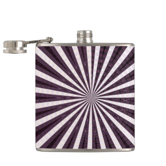 BACHELORETTE, Template DIY add color text  photo Hip Flask