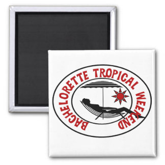 Bachelorette Tropical Weekend Tshirts and Gifts Refrigerator Magnets