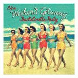 Bachelorette Weekend Getaway Party Invitations