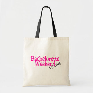 Bachelorette Weekend (Official/Pink) Tote Bag