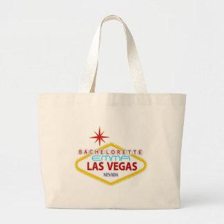 "Bachelorette ""YOUR NAME HERE"" Las Vegas Tote Bag"