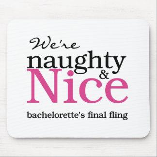Bachelorettes Final Fling Pink Mouse Pad