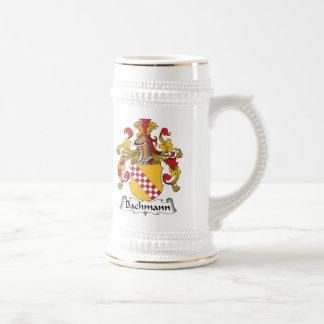 Bachmann Family Crest Beer Stein