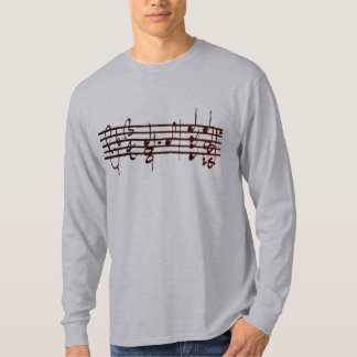 Bach's Chaconne for Violin - first 2 measures T-Shirt