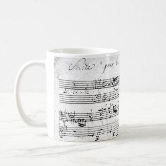 Bach's Lute Suite Coffee Mug