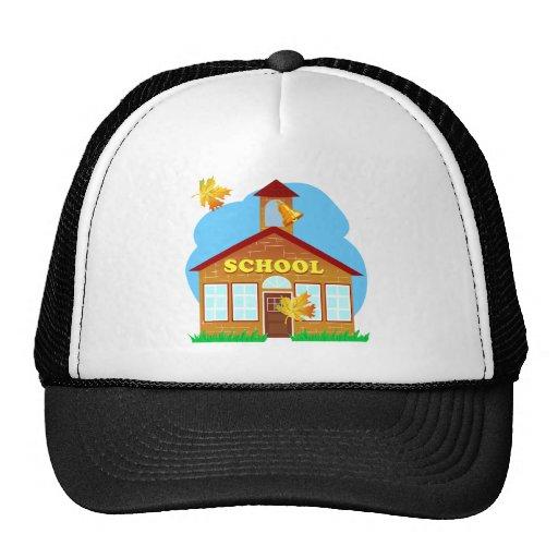 BACK 2 SCHOOL 179252011 CARTOON BUILDING Preschool Hat