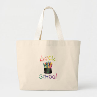 Back 2 School Large Tote Bag