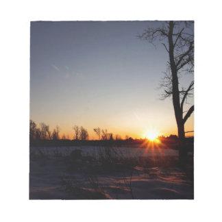 Back 40 Sunset Notepad