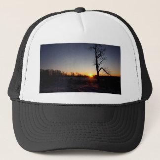 Back 40 Sunset Trucker Hat