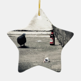 Back Alley Ceramic Star Ornament