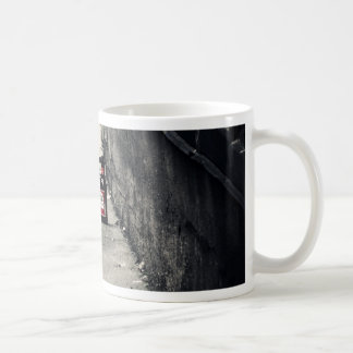 Back Alley Classic White Coffee Mug