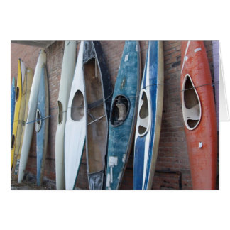 Back Alley Kayaks Greeting Card