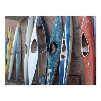 Back Alley Kayaks Postcard