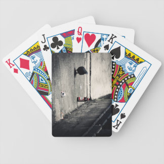 Back Alley Bicycle Poker Cards