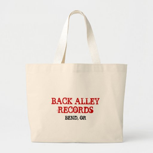 BACK ALLEY RECORDS, BEND, OR BAG