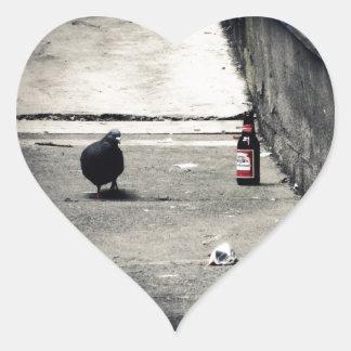 Back Alley Heart Sticker