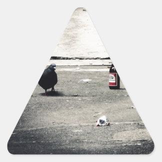 Back Alley Triangle Sticker