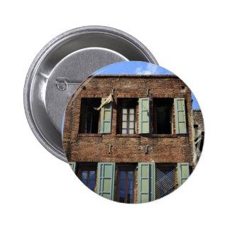 Back Alley Windows Pinback Button