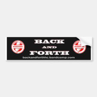 Back and Forth - NJHXC Bumper Sticker