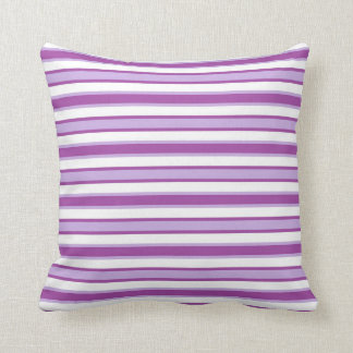 Back and Forth Purples Throw Pillow