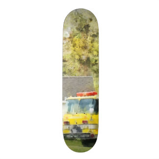 Back at the Firehouse Skateboards