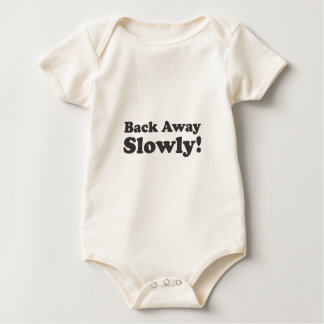 Back Away Slowly! Baby Bodysuit